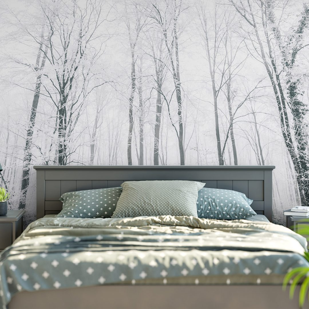 Frozen Forest Decor Wall