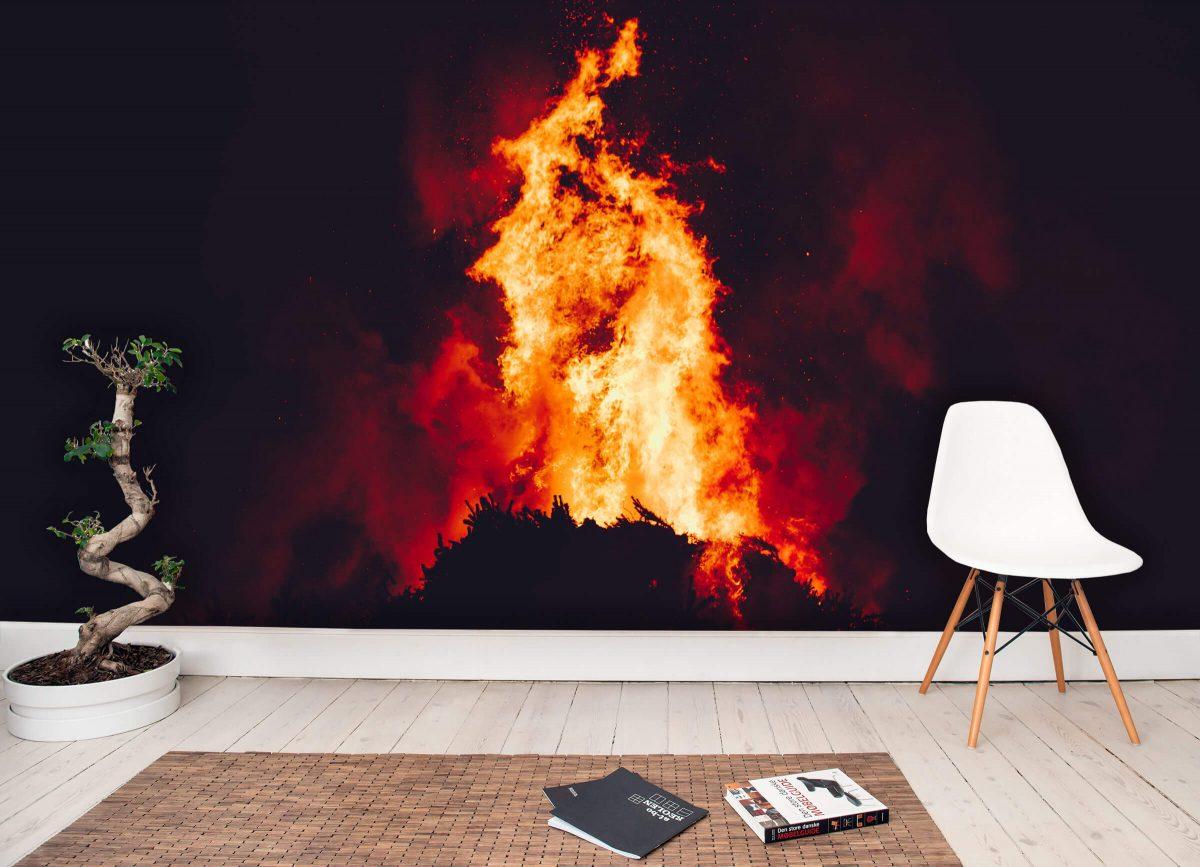 A Huge Bonfire